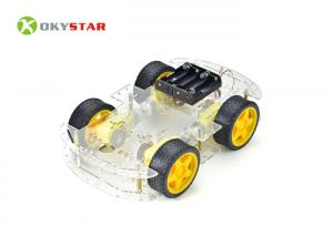 China 4WD DIY Smart Science Arduino Car Robot / Robot Car Chassis Kit For High School Games on sale
