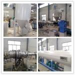 PE / PPR / PERT Cool and Hot Water Plastic Pipe Extrusion Line Single Screw