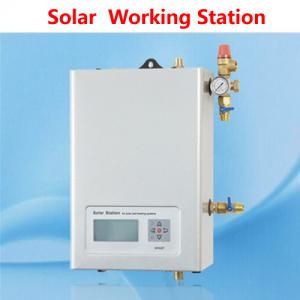 China AC 50 - 60 Hz Solar Water Heater Controller Working Pump Station Low Power Consumption on sale