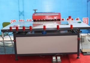 China MINI anchura de la maquinaria 1000m m de la doble vidriera de la tabla de la prensa del rodillo frío on sale