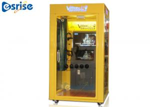 China All In One Game Karaoke Machine With Screen 2 Players Tempered Glass Window on sale