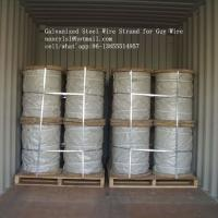 Hot Dipped Galvanized Steel Cable Strand For Overhead Electrical Wire