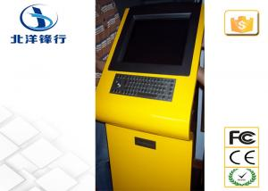 China Exposição de alumínio do quiosque de informação da tela de toque de Bluetooth com teclado do metal on sale