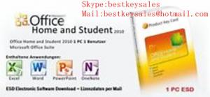 Quality Microsoft Office 2010 - Home and Student 1PC, FPP, Original online activation for sale