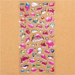 China vivid custom epoxy sticker on sale