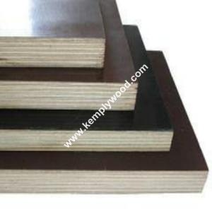 China Phenolic board for concrete form work, building shuttering film faced plywood,best quality film faced plywood for bridge on sale