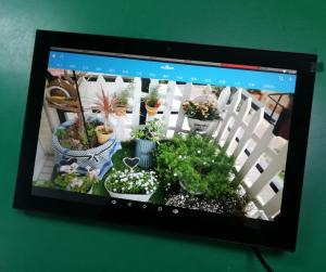China 10 inch in-wall mounting poe android tablet for smart home automation on sale