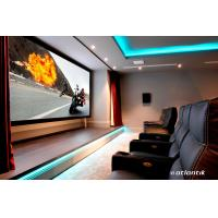 China 16:9 HDTV Wall Mount Fixed Frame Projection Screen For Home Cinema China Manufacture on sale
