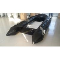 8 Person Black Long Military Inflatable Boat ,  Inflatable Speed Boat For Rescue