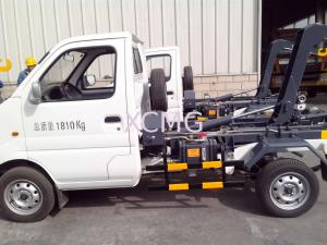 China Hook Lift Garbage Truck 1Ton Special Purpose Vehicles For Refuse Collection XZJ5020ZXXA4 on sale
