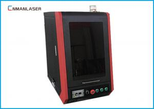 China CNC Enclosed Fiber Optic Laser Engraving Machine 20w 30w Air Cooling on sale