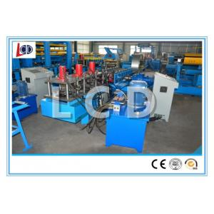 China Purline Use Metal Stud And Track Roll Forming Machine 380v 12m / Min  Capacity on sale