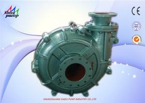China Mud Transfer Fly Ash Slurry Transfer Pump Single Stage Wear Resistant 56m3 / H on sale