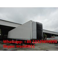 40 foot tri-axle mobile refrigerated cargo container trailer, best price factory sale45tons freezer van semitrailer