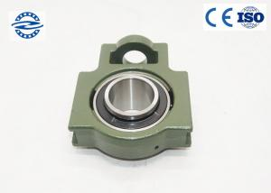 China Green Pillow Ball Bearing UCT203 With Flange Mount Stainless Steel For Long Life on sale