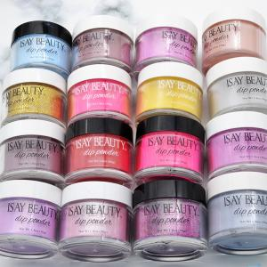 China easy remove nail powder dipping acrylic powder, gel base dipping powder new nail systems supplier