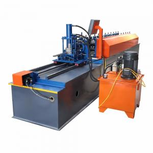 China Easy Operate Metal Stud And Track Roll Forming Machine For Multi Profiles 30-40m/Min on sale