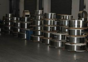 China Hot Rolled / Cold Rolled Steel Strip , Grade 321 Stainless Steel Roll Slit / Mill Edge on sale