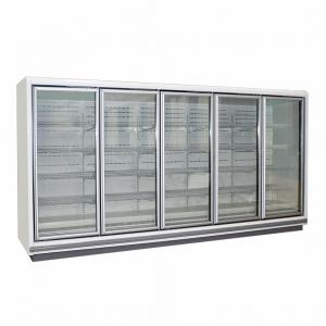 China Multideck Glass Door Display Freezer, Supermarket Display Fridge Freezer on sale
