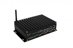 China Intel N2800 Fanless Mini PC Box PC Embedded Industrial PC NIS-928 on sale