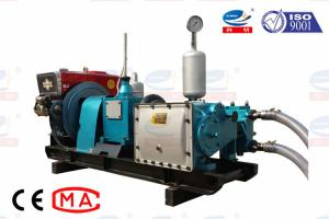 China Energy Saving Grouting Pump Machine Diesel Driven For Slurry And Mud on sale