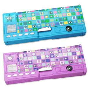 China Multifunctional Cool Custom Pencil Cases OEM / ODM For Kids on sale