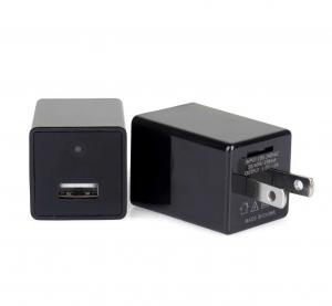 China usb charger hidden spy camera supports phone and pc connection works as wireless ip camera on sale