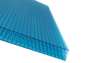China UV Coated Polycarbonate Panel Hollow Sheet Polycarbonate Honeycomb Panel on sale