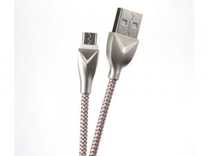 China Braied Mesh Andriod USB Extend Data Cable , Fast Charging USB Extension Power Cable on sale