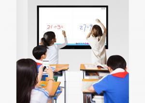 China Portable Interactive Whiteboard Display , Infrared Smart Board Interactive Whiteboard on sale