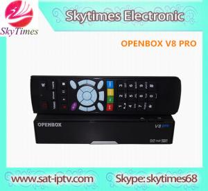 China dvb-s2 free iptv set top box satellite tv receiver openbox V8 PRO on sale