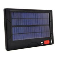 multi crystal silicon 100 - 240V AC / DC white LED Solar Panels Battery Charger