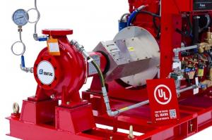 China High Head Diesel Fire Fighting Water Pump / Oil Fields Fire Fighting Pump System on sale