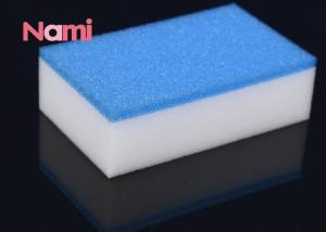 China Reliable Magic Eraser Sponge Polyester / Polyamide Material Customized Shape on sale