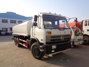 China Dongfeng 10 Wheel Construction Water Bowser Truck , 20000L 20 Ton Water Sprinkler Truck , on sale