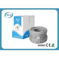 Internet Cable Wire CAT.5E Copper CCA Conductor white Ethernet Cable