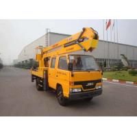 China XCMG Bucket Articulating Truck Mounted Lift , 2T Lifting Capacity on sale