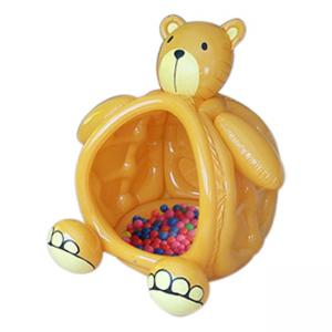 China Funny Bear Children Inflatable Jumping Castle Use Environmental PVC on sale