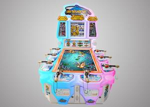 China Promotional Fish Hunter Arcade Machine Acrylic Shell For Family Entertainment Center on sale