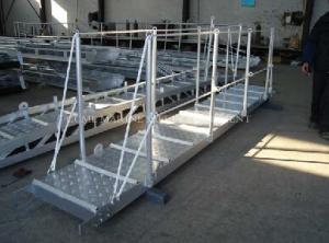China Marine Gangway Ship Gangways Aluminum Boat Gangway on sale