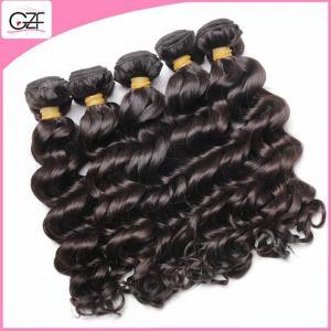 China Virgin Wet and Wavy Bundle Hair Weave 14'' 16'' 18'' 20 ''22'' Brazilian Deep Wave Curly Hair on sale