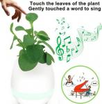 Music Flower Pot K3 Portable Bluetooth Speaker Changeable Colors DC 5V LED Smart Lights