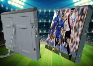 China Iron Electronic Stadium Perimeter Led Display Smd 3in1 For Sport Advertising on sale