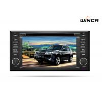 China 3G Wifi BT Radio Subaru Forester Navigation , Double Din Navigation With Camera on sale