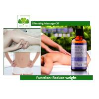 Female Weight Loss Essential Oils Fat Burning Slimming Massage Oil For Waist / Belly