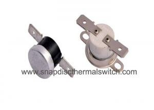 China Ceramic Snap Disc Thermal Switch Auto Reset VDE TUV Certificated 24V DC 2A on sale