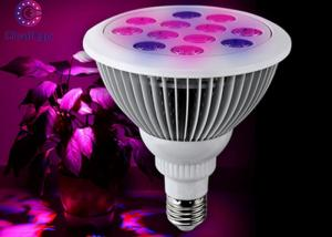 China 12 Watt Greenhouse LED Grow Lights Aluminum 1000LM 90V-265V E27 High Efficiency on sale