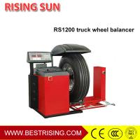 Self owned truck and car used Intelligent Wheel Balancer for garage