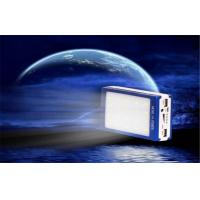 China Shock / Dust Resistant Electroluminescent Products Dual USB Solar Mobile Power Supply on sale