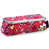 China Professional Custom Red Cartoon Portable Cute Cosmetic Make Up Travel Bag on sale